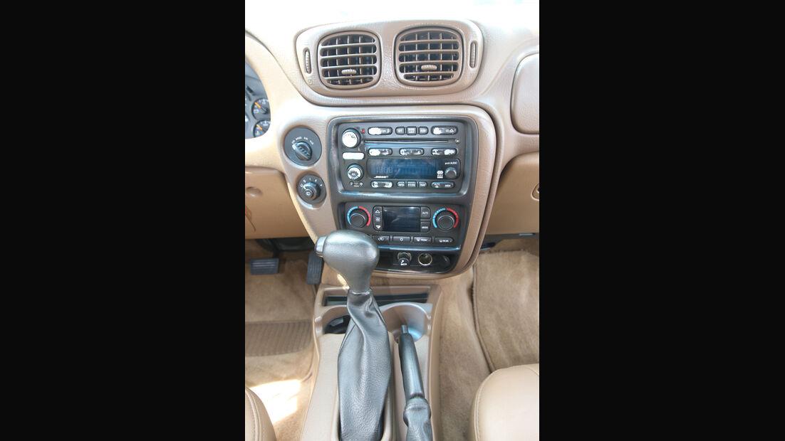 Chevrolet Trailblazer, Mittelkonsole