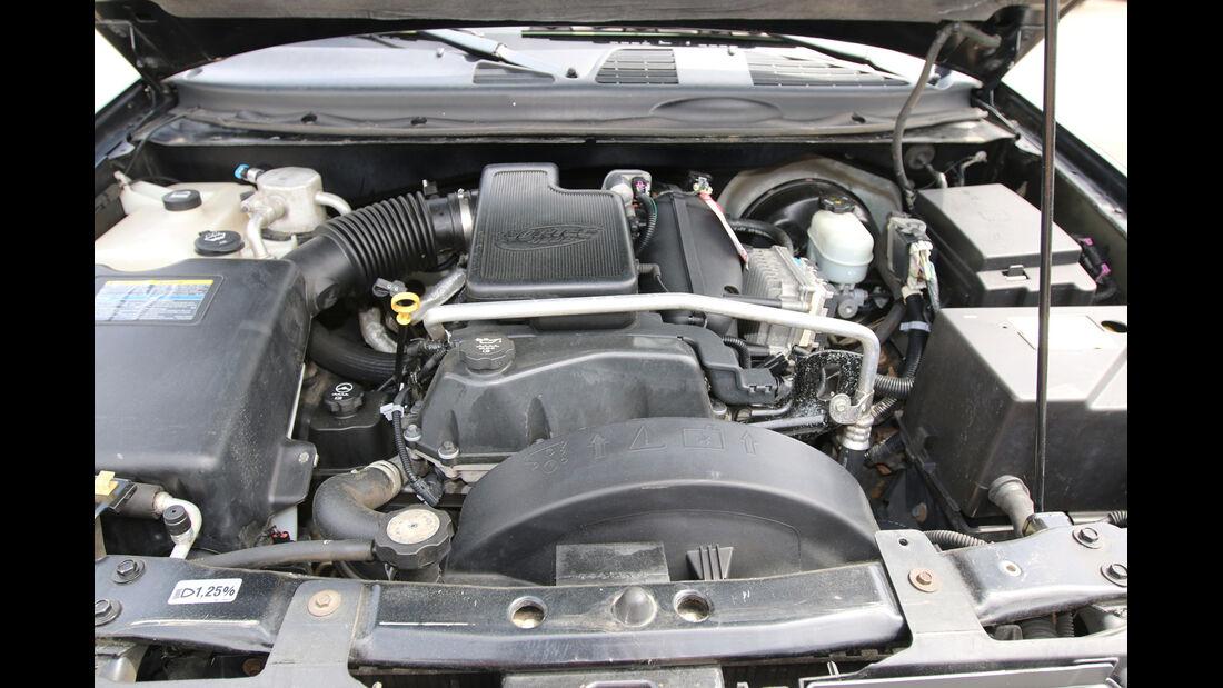 Chevrolet Trailblazer, Motor