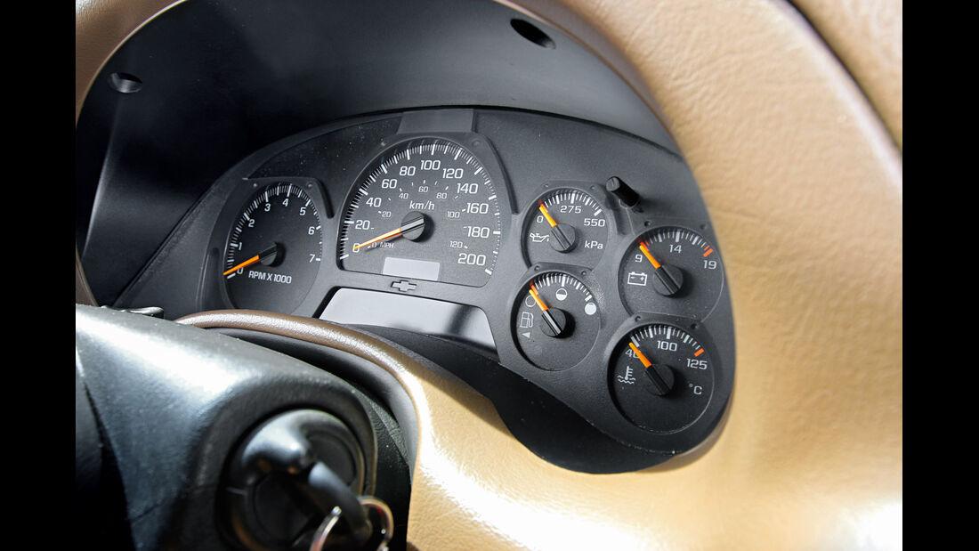 Chevrolet Trailblazer, Rundinstrumente