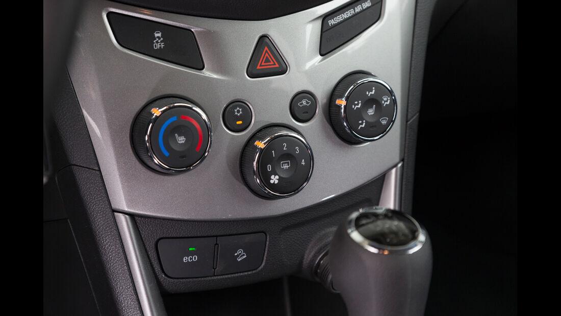 Chevrolet Trax 1.4 Turbo AWD, Bedienelemente