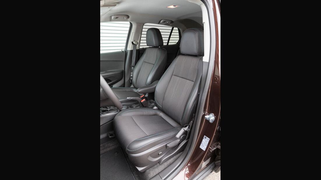 Chevrolet Trax 1.4 Turbo AWD, Fahrersitz