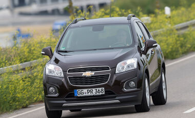 Chevrolet Trax 1.4 Turbo AWD, Frontansicht