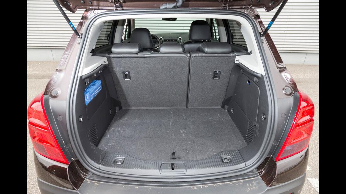 Chevrolet Trax 1.4 Turbo AWD, Kofferraum