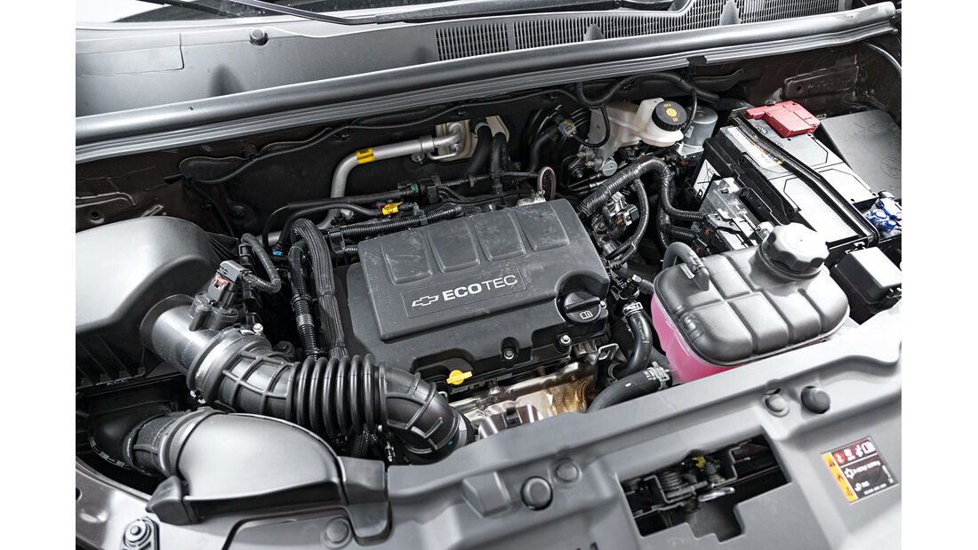 Chevrolet Trax 1.4 Turbo AWD, Motor
