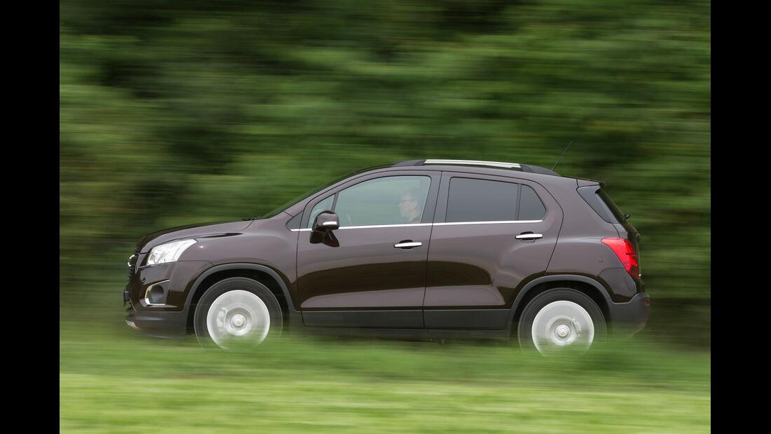Chevrolet Trax 1.4 Turbo AWD, Seitenansicht