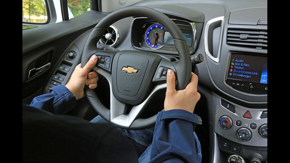 Chevrolet Trax 1.7 D FW LT, Cockpit