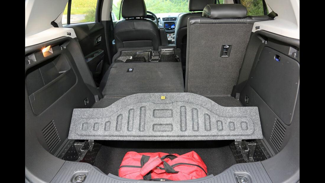 Chevrolet Trax 1.7 D FW LT, Kofferraum