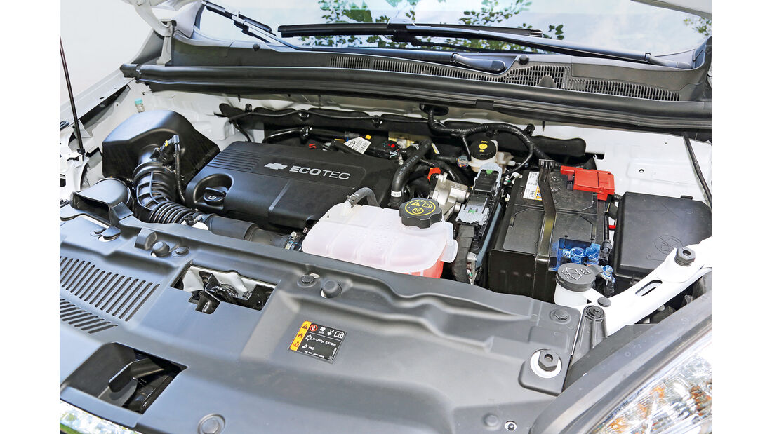 Chevrolet Trax 1.7 D FW LT, Motor