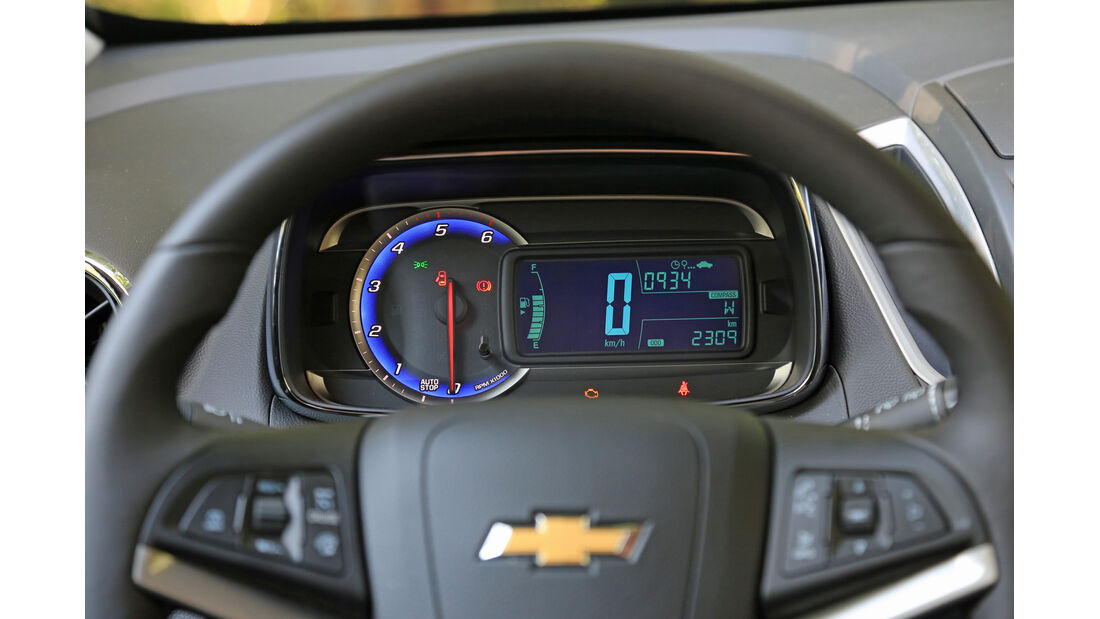 Chevrolet Trax 1.7 D FW LT, Rundinstrumente