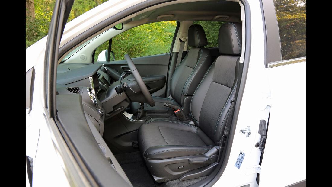 Chevrolet Trax 1.7 D FW LT, Sitze