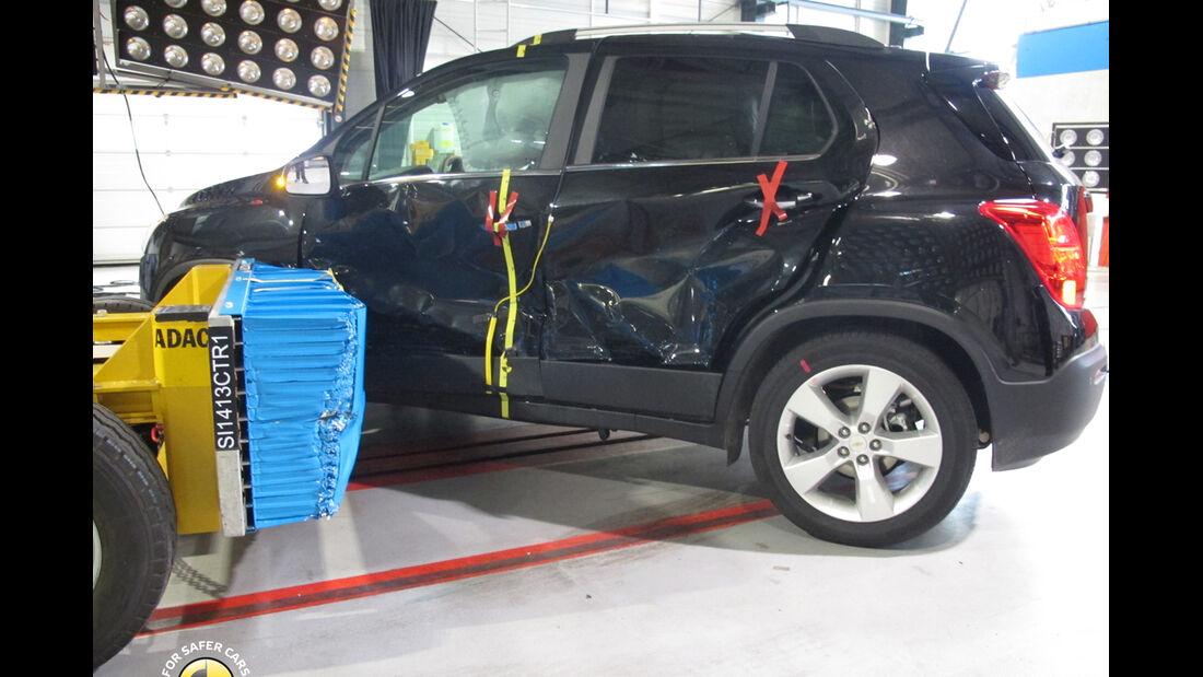 Chevrolet Trax EuroNCAP-Crashtest