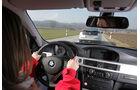 Chevrolet Volt, Elektroauto, BMW 320d Efficient Dynamics, Cockpit