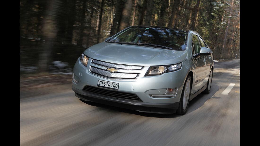 Chevrolet Volt, Elektroauto, Benzinmotor, Front