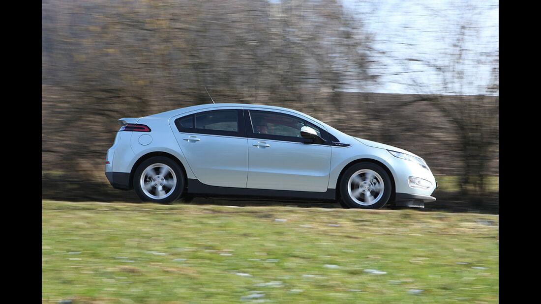Chevrolet Volt, Elektroauto, Benzinmotor, Seitenansicht
