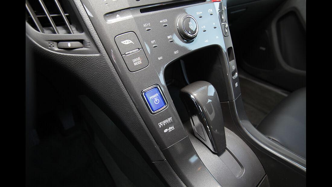 Chevrolet Volt, Elektroauto, Innenraum, Mittelkonsole