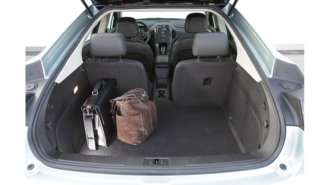 Chevrolet Volt, Elektroauto, Kofferraum, Benzinmotor