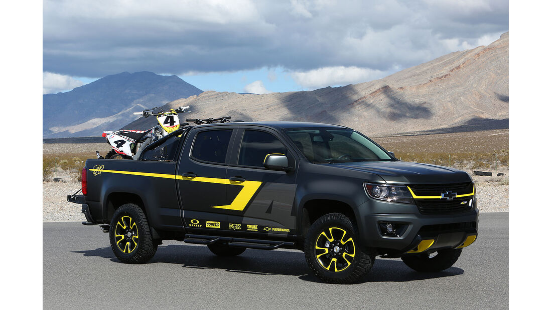 Chevy Colorado Performance Concept Enables Adventure