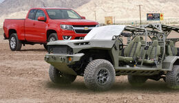 Chevy Colorado US Army Collage
