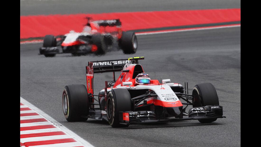 Chilton & Bianchi - GP Spanien 2014