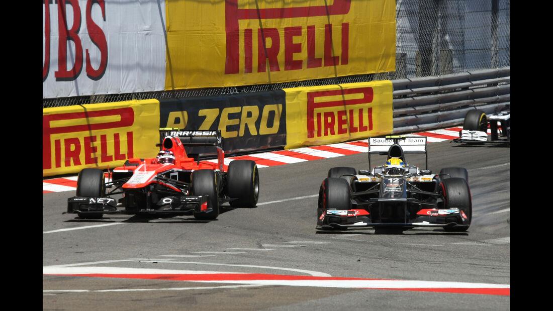 Chilton & Gutierrez - GP Monaco 2013