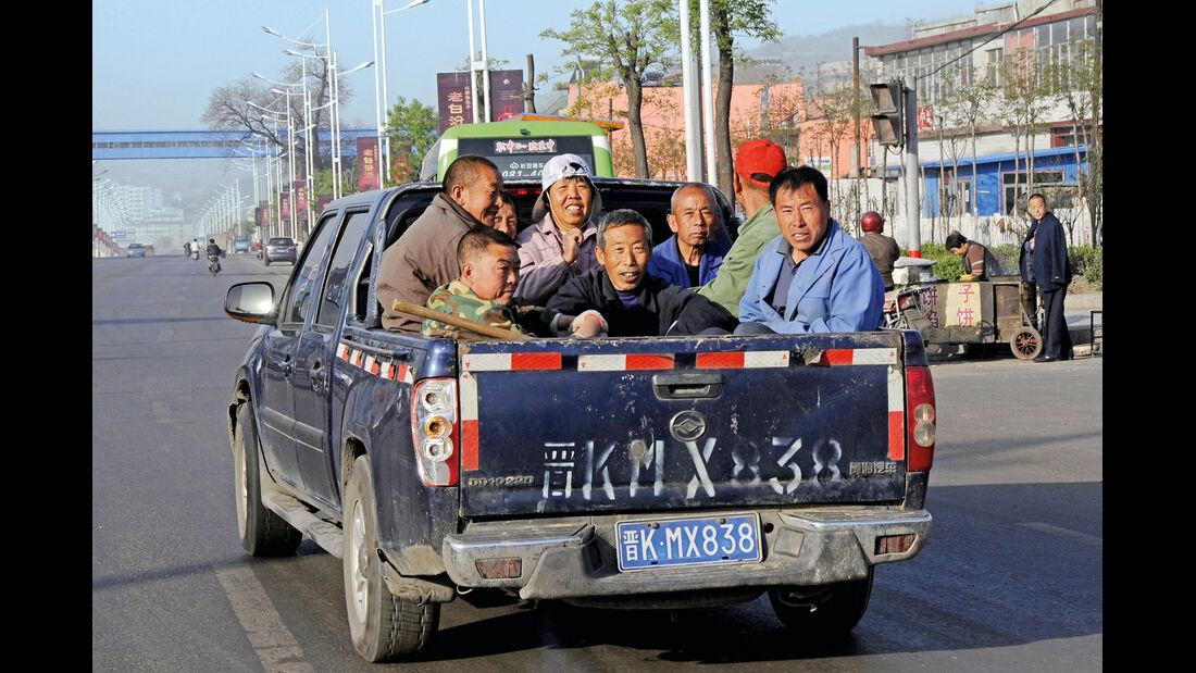 China, Pickup