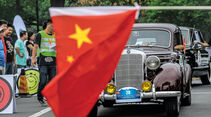 China-Rallye, Impression, Reportage