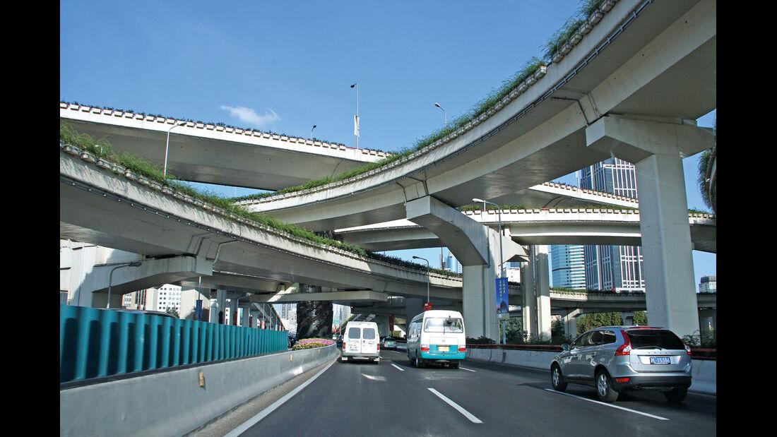 China, Straßenkreuz
