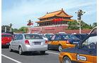 China, Tempel, Verkehr