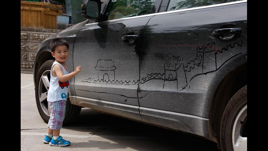 Chinesische Mauer, Impression
