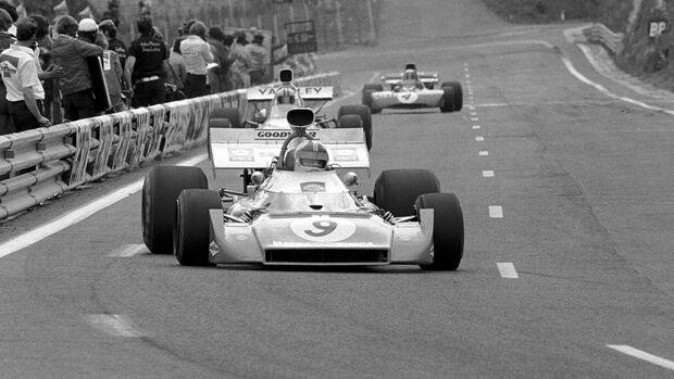 Chris Amon - Matra MS120D - Prêmio França 1972 - Clermont Ferrand