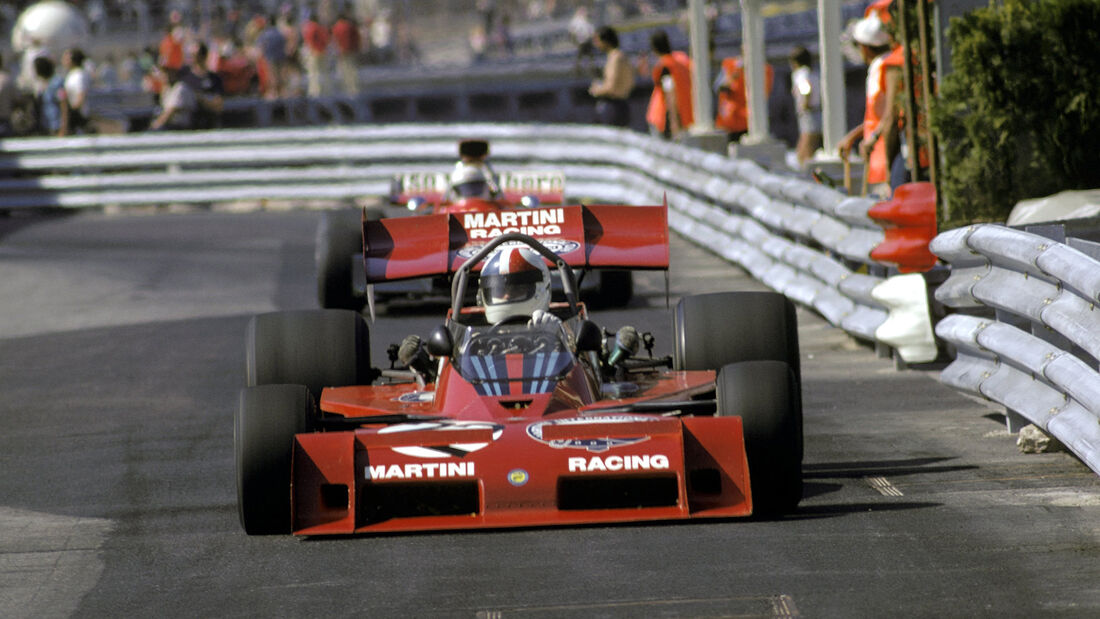 Chris Amon - Tecno PA123 - GP Monaco 1973