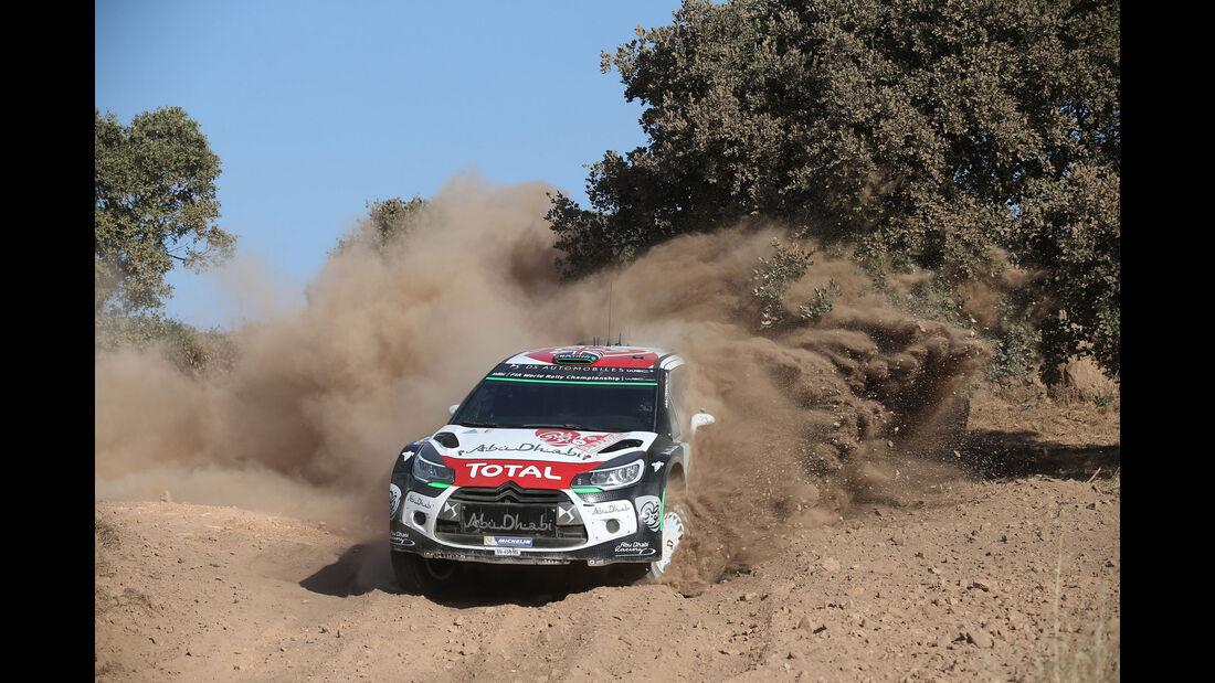 Chris Meeke - Citroen Rallye Sardinien - WRC