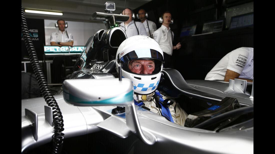 Christian Danner - Mercedes Track Day - Hockenheim - 28. Juni 2016