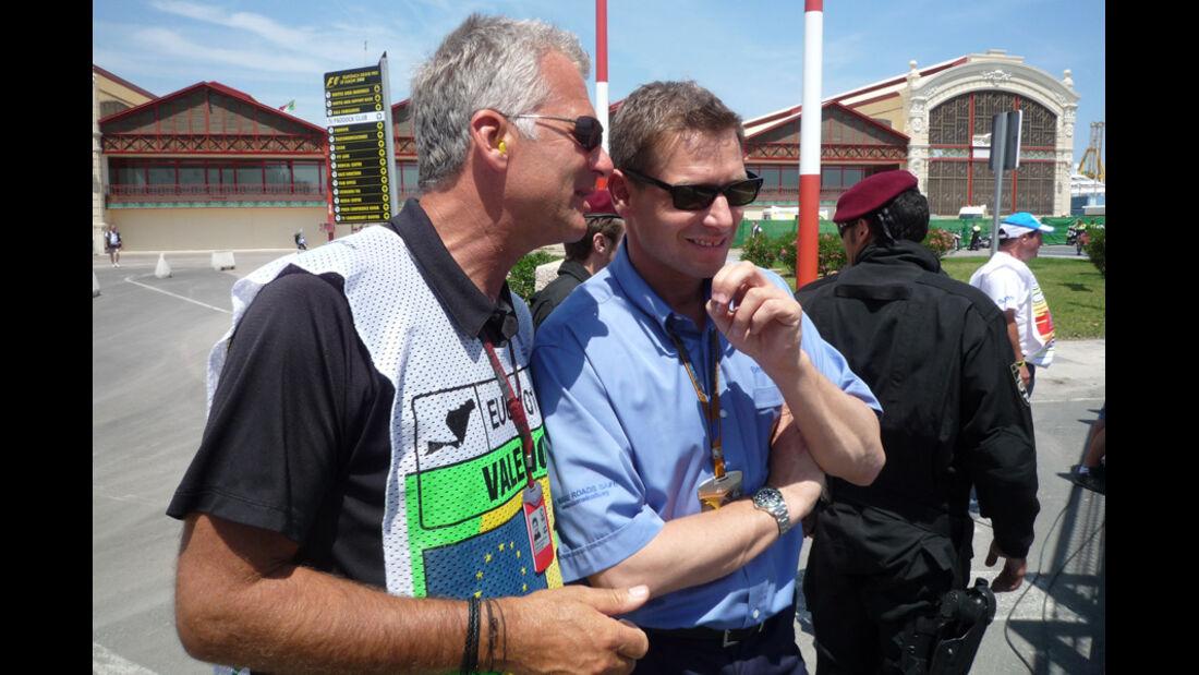 Christian Danner und Bernd Mayländer