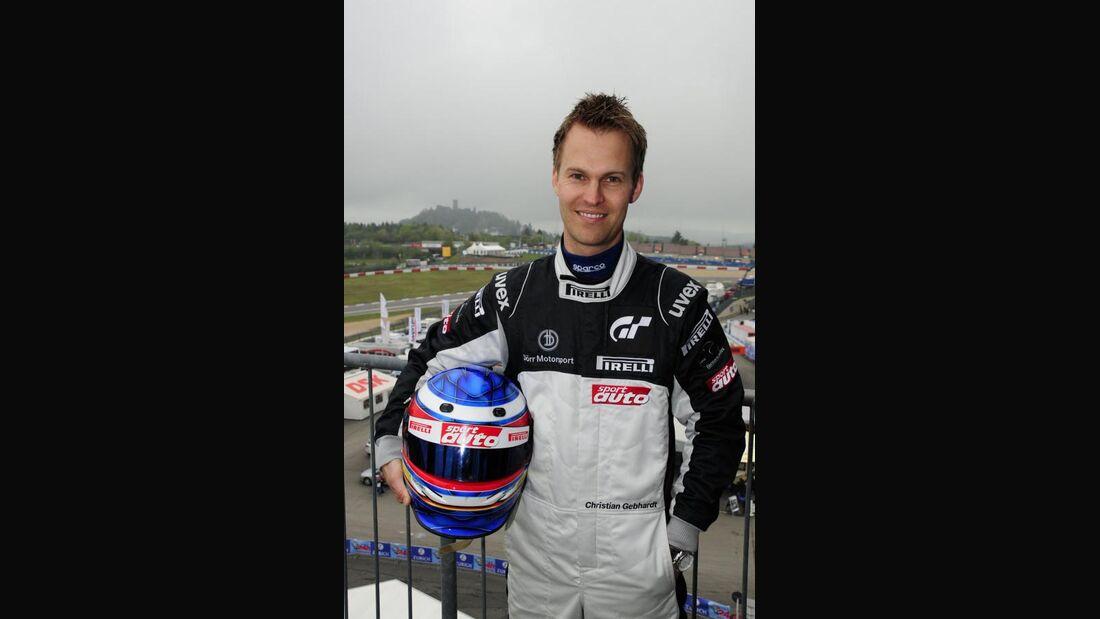 Christian Gebhardt 24h-Rennen Nürburgring 2010 Motor Presse Stuttgart Fahrer