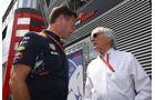Christian Horner - Bernie Ecclestone - GP Österreich 2017 - Spielberg - Qualifying