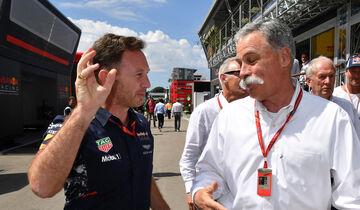Christian Horner & Chase Carey - Formel 1 - 2017