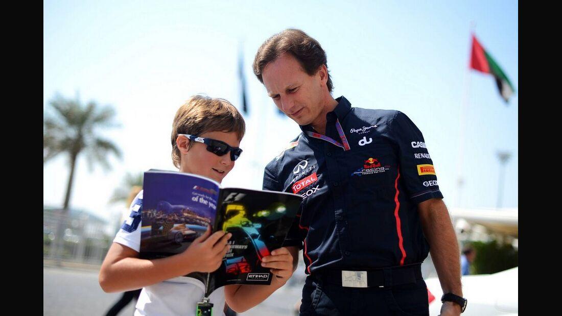 Christian Horner - Formel 1 - GP Abu Dhabi - 01. November 2012