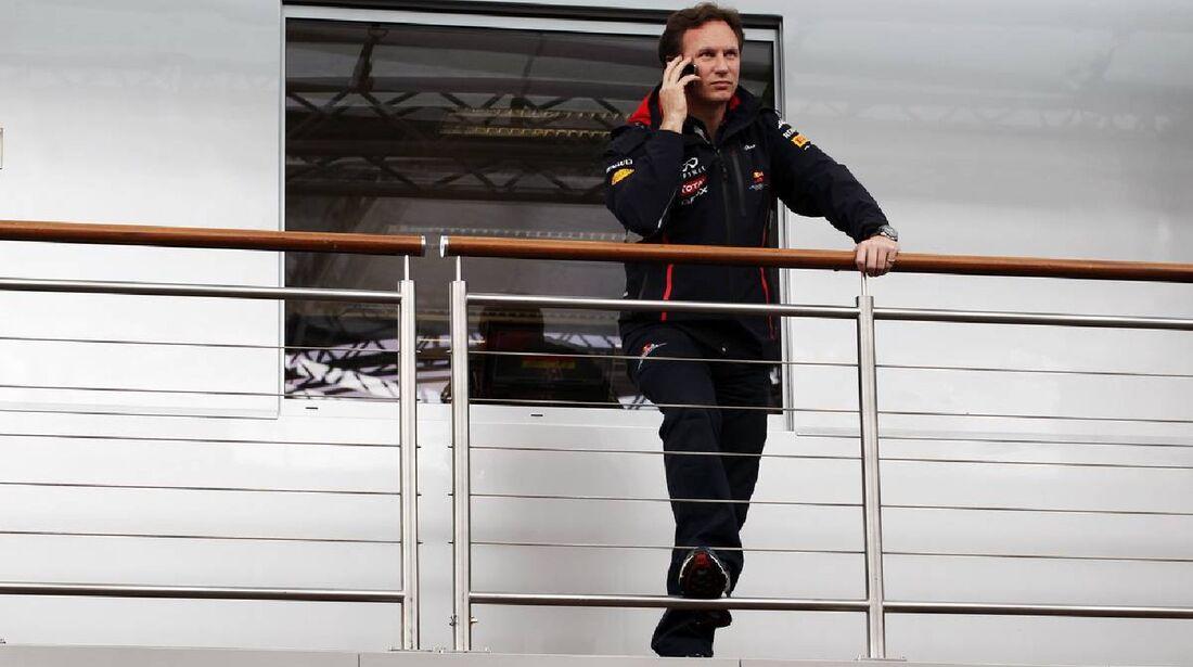 Christian Horner - Formel 1 - GP Deutschland - 21. Juli 2012