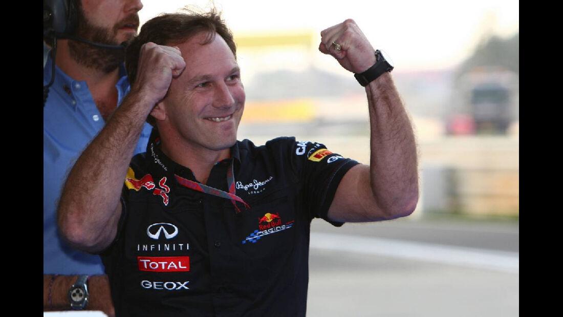 Christian Horner - Formel 1 - GP Korea - 16. Oktober 2011