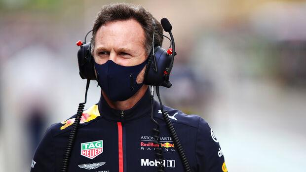 Christian Horner - GP Portugal 2020