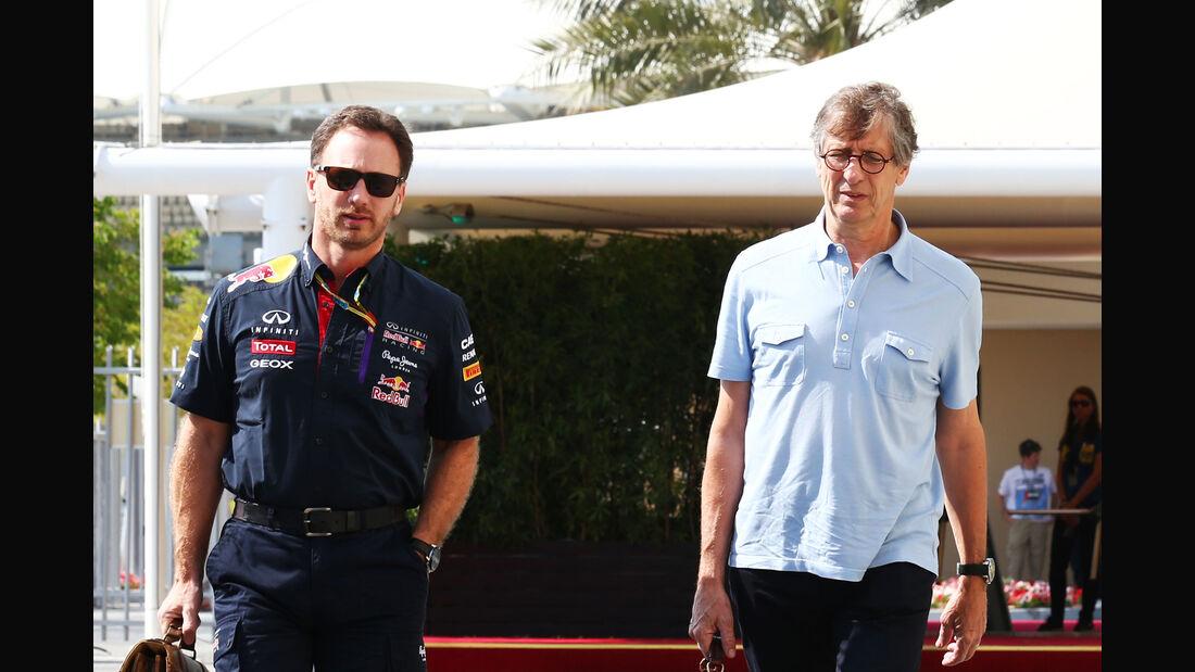 Christian Horner & Mario Illien - F1 2014