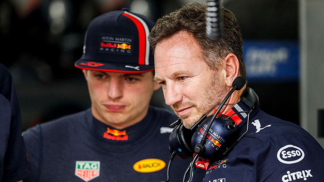 Christian Horner & Max Verstappen - Formel 1 - 2019