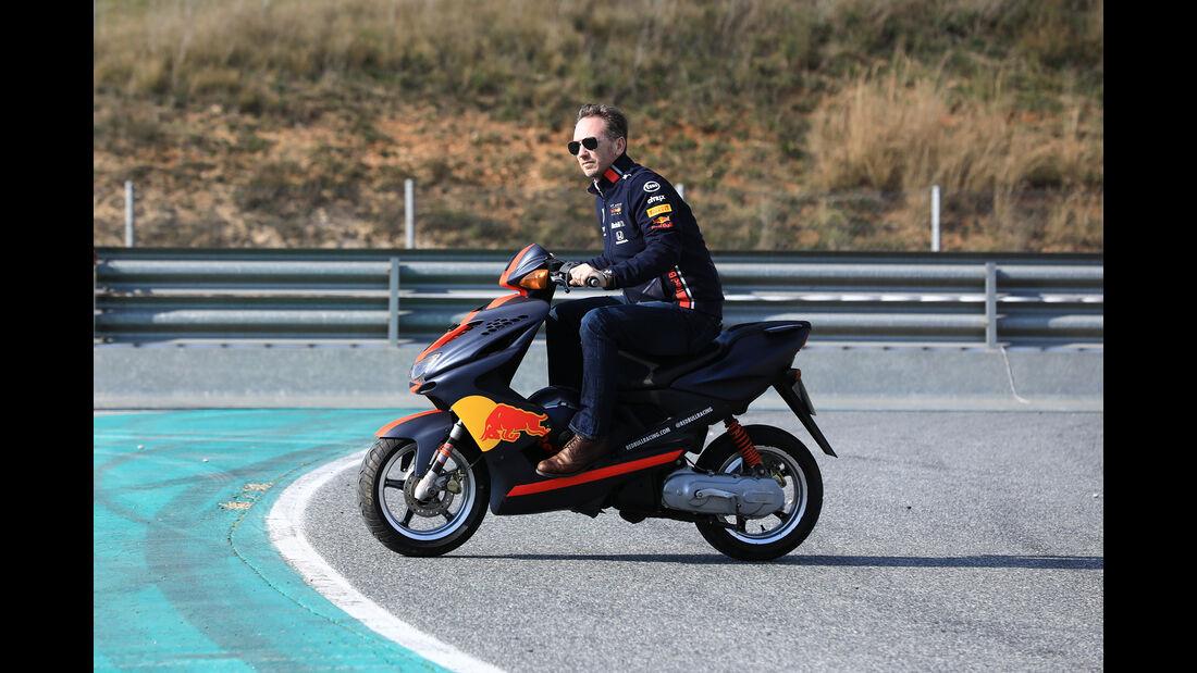 Christian Horner - Red Bull - Barcelona - F1-Test - 19. Februar 2019