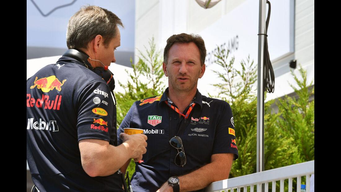 Christian Horner - Red Bull - Formel 1 - GP Aseerbaidschan 2017 - Training - Freitag - 23.6.2017
