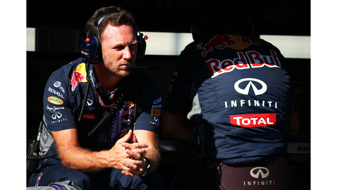 Christian Horner - Red Bull - Formel 1 - GP Belgien - Spa-Francorchamps - 21. August 2015
