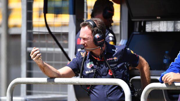 Christian Horner - Red Bull - Formel 1 - GP Brasilien - 10. November 2017