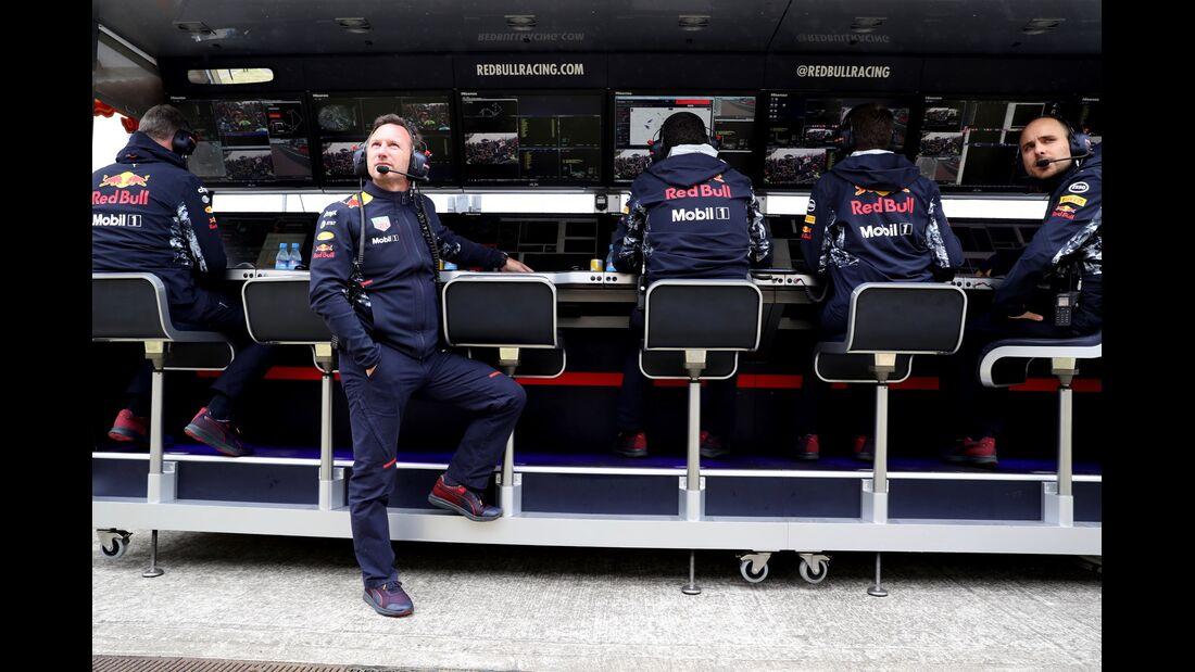 Christian Horner - Red Bull - Formel 1 - GP England - 15. Juli 2017