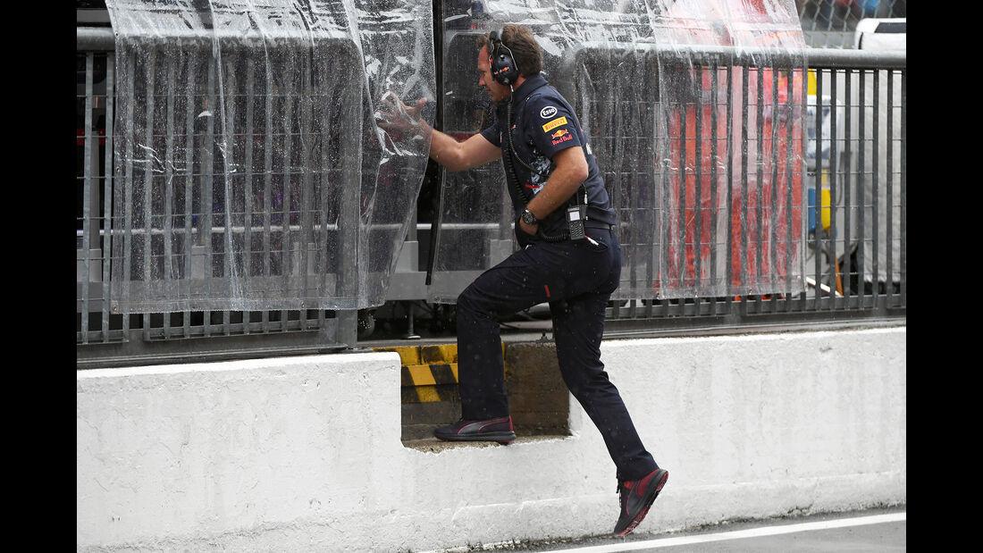 Christian Horner - Red Bull - Formel 1 - GP Italien - Monza - 2. September 2017
