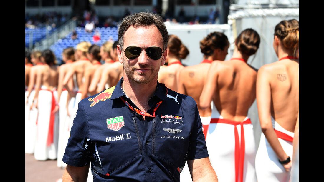 Christian Horner - Red Bull - Formel 1 - GP Monaco - 27. Mai 2017